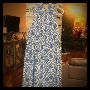 Azalea dress Royal blue and white size 2X